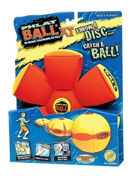 Toys & Games Phlat Ball XT w/Fabric Cover for Easy Gripping