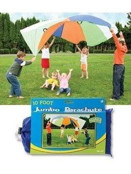 Toys & Games Jumbo 10 Foot Play Parachute