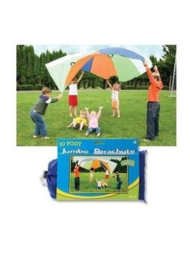 Toys & Games Jumbo 10 Foot Play Parachute