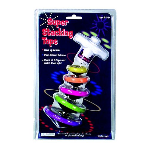Toys & Games Super Stacking Tops—Stimulating Sensory Toy!