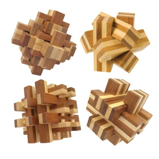 Toys & Games Bamboozlers™ Wooden Fidget Puzzles