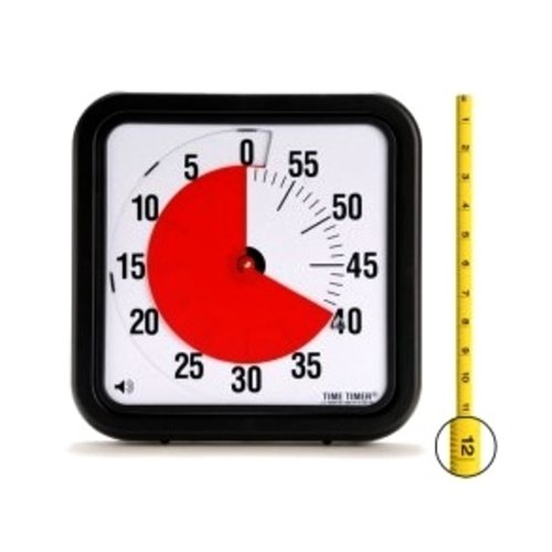 "SENSORY Time Timer Original 12"" With Audible Option"