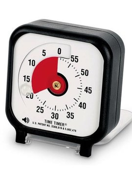 "Classroom Aid Time Timer 3"" With Audible Option"