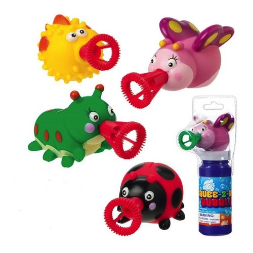 Toys & Games Mini Squee-Z-Bubs Bubble Makers (Set of 4)