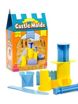 Toys & Games NEW! WABA Fun Mini Castle Molds  (8 Piece Set)