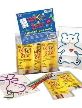 "Toys & Games Wikki Stix Fun Party Favor - 1 Pack of 8 x 6"" Stix & Play Sheet"