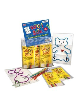 "Toys & Games Wikki Stix Fun Party Favor - 1 Pack of 8 x 6"" Stix & Play Sheet"