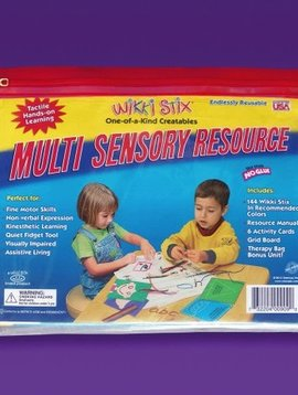 Toys & Games Wikki Stix Multi Sensory Resource Kit - The Really Cool Tool for Teaching!