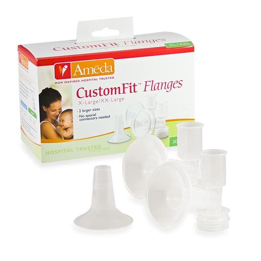 Ameda BPA/DEHP FREE Custom Breast Flanges Size XL/XXL