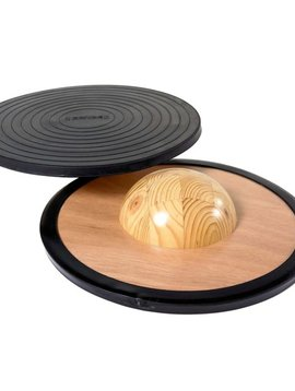 Therapy Equipment Gonge Durable Wooden Balance Board
