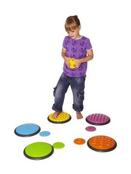 Toys & Games Gonge Tactile Discs - OT Discs for Autism & Sensory Integration (Set of 5)