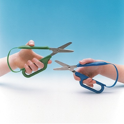 SENSORY Long Loop Easi-Grip Scissors