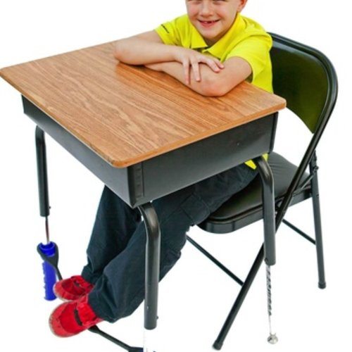 Classroom Aid AWARD WINNING! Bouncy Bands for Wide Desks - The Wiggle While You Work Solution!