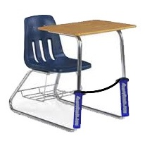 Classroom Aid AWARD WINNING! Bouncy Bands for Specialty Desks - The Wiggle While You Work Solution!