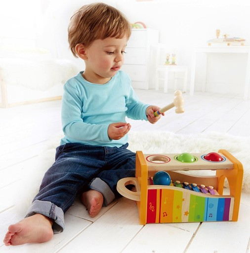 Toys & Games Early Melodies Pound & Tap Bench