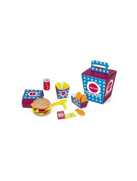 Toys & Games Janod Burger Box Play Set