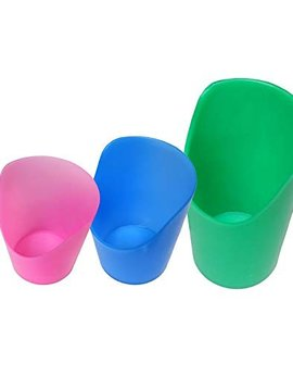 Therapy Equipment Flexi Nosey Cut Cups - 1 of each size (Set of 3)