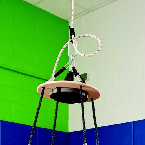"""Special Order Southpaw Top Disc Design Platform Swing (31"""" Base X 60"""" H) *FREE SHIPPING!!!"""