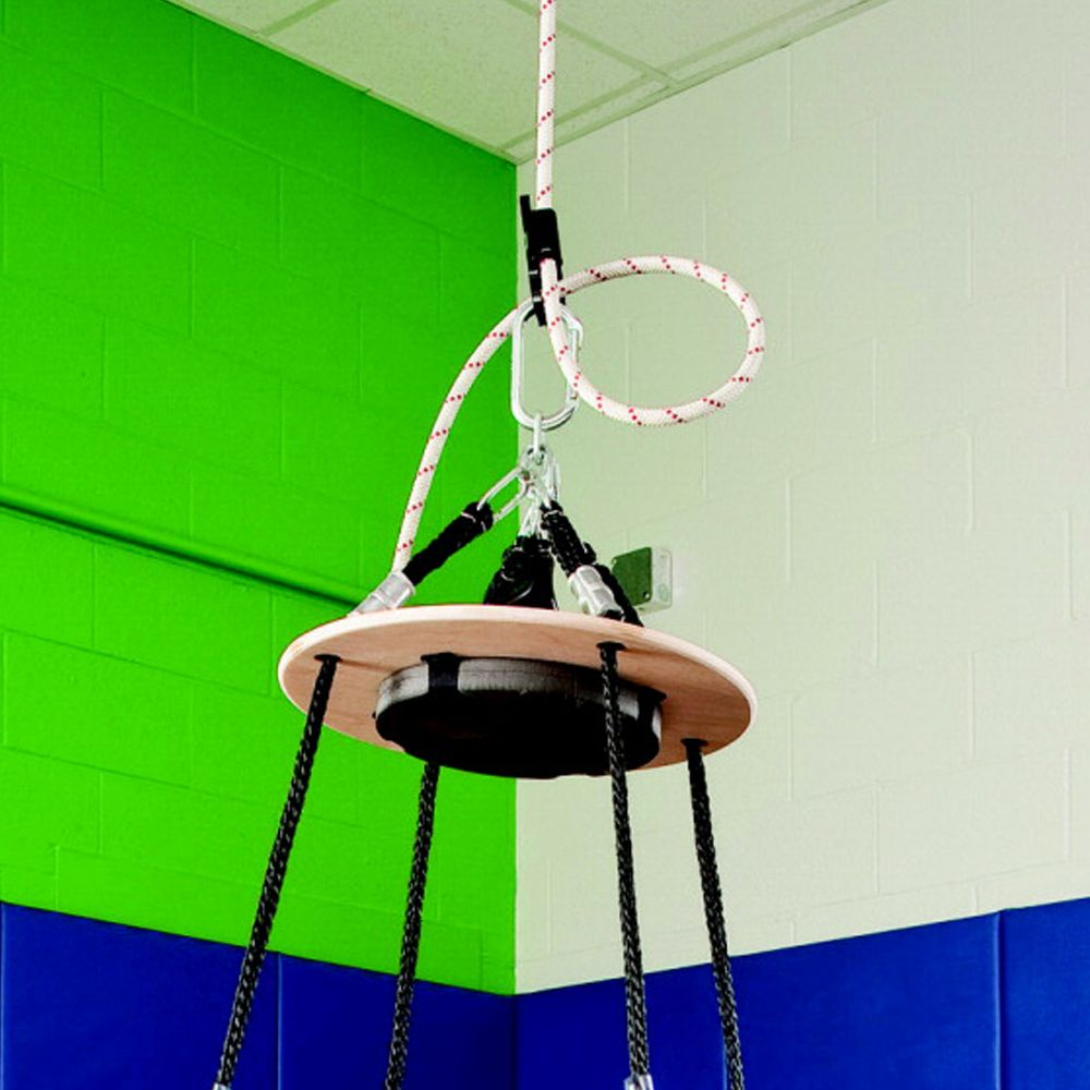 "Special Order Top Disc Design Platform Swing (31"" Base X 60"" H) *FREE SHIPPING!!!"