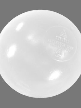 "Special Order 3 1/8"" Clear Anti-Microbial Ball Pool Balls (500 Per Carton)"