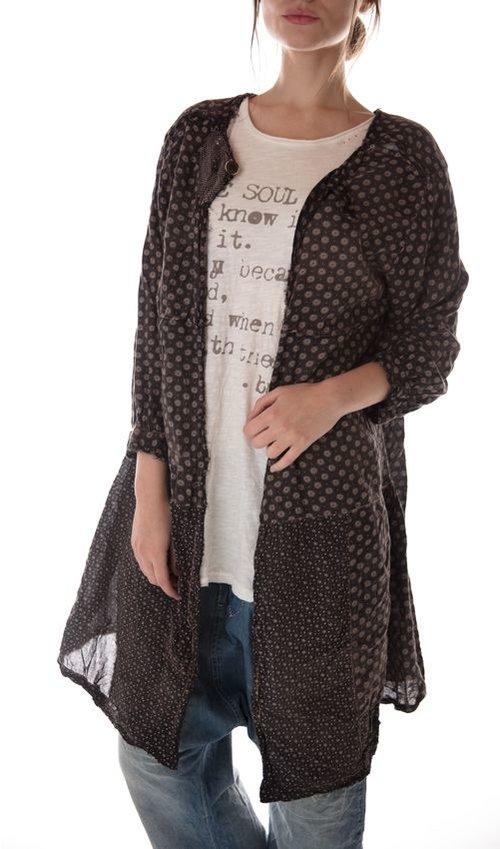 Cotton Twill Lani Callaway Dress, V-Neck Button and Tie Back, Magnolia Pearl