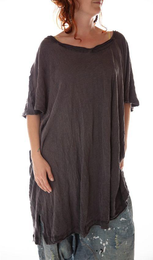 Cotton Jersey Beau T Dress, Magnolia Pearl