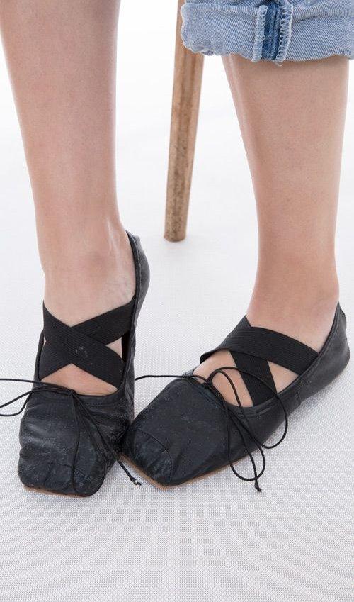 All Leather Stella Toe Shoes, Magnolia Pearl
