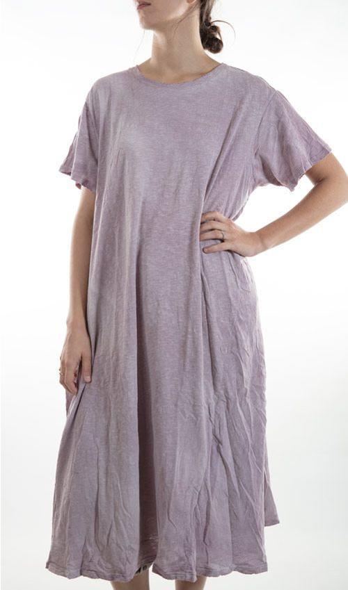 Cotton T Dress, New Boyfriend Cut, Magnolia Pearl