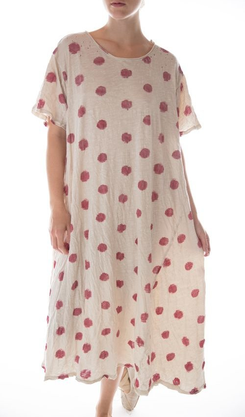 Cotton Jersey T Dress, New Boyfriend Cut, Magnolia Pearl