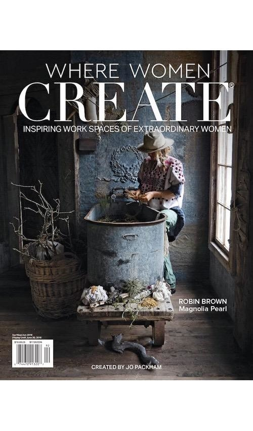 Where Women Create Magazine, 2019