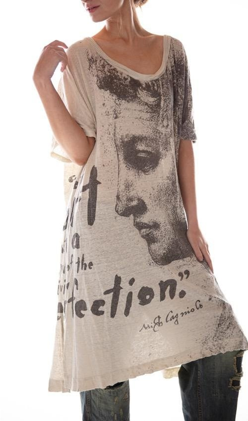 Cotton Jersey Divine Perfection Beau T Dress, Magnolia Pearl