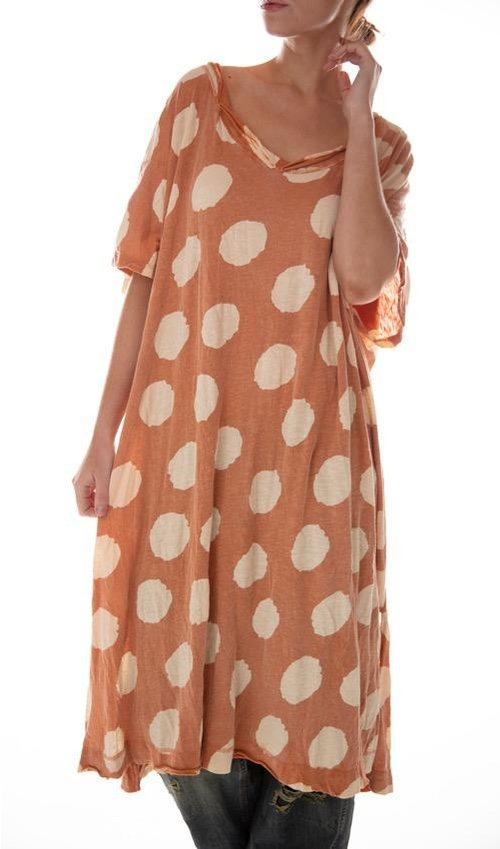 Cotton Jersey Beau T Dress, Magnolia Pearl