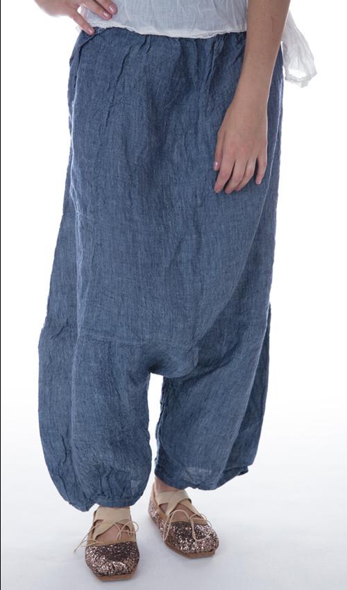 Linen Chambray Klarah Pants in Chambray