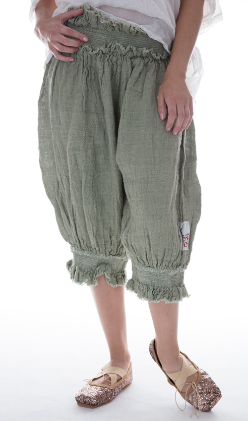 Handwoven European Linen Edlyn Shorts