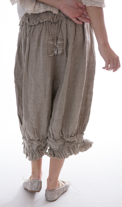Homespun Edlyn Shorts with Shearing Waist and Legs in Natural