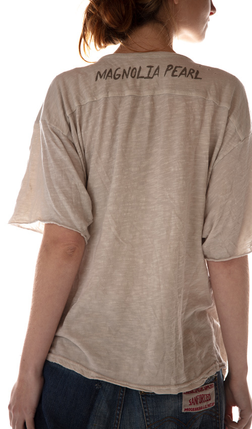 Cotton Jersey Rocky Mountain T, Magnolia Pearl