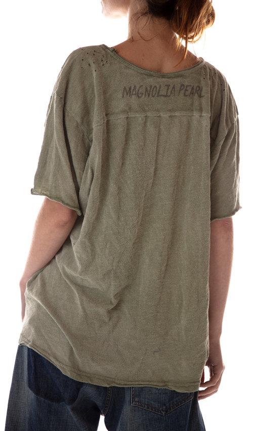 Cotton Jersey Rocky Mountain T, Magnolia Pearl