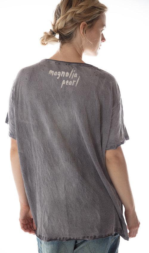 Cotton Jersey Yugen T, New Boyfriend Cut, Magnolia Pearl