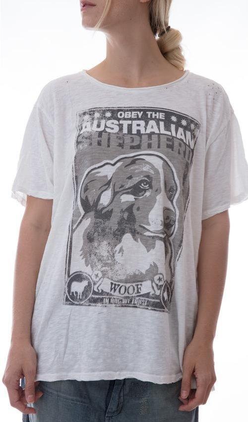 Aussie Cotton Jersey, New Boyfriend T, Magnolia Pearl