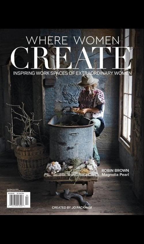 Where Women Create Magazine, 2019