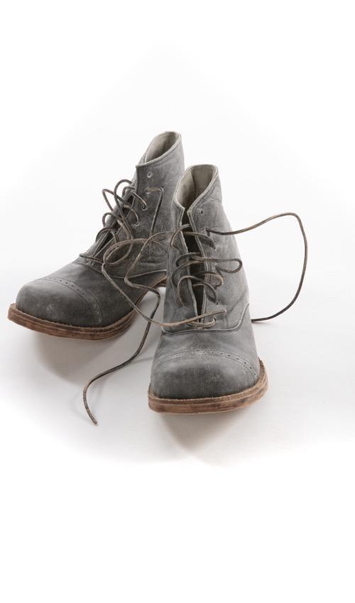 All Leather Handmade Bojangle Boots, Magnolia Pearl