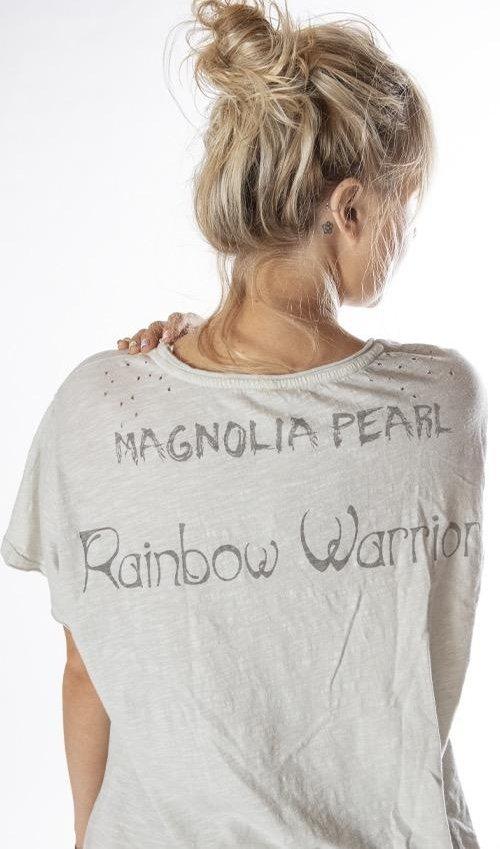 Cotton Jersey Sufi T, New Boyfriend Cut, Magnolia Pearl