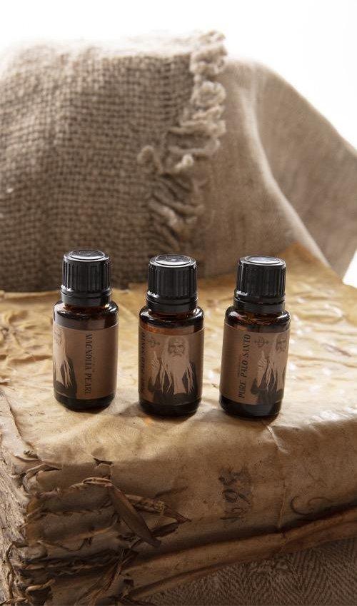 Pure Palo Santo Essential Oil, Magnolia Pearl