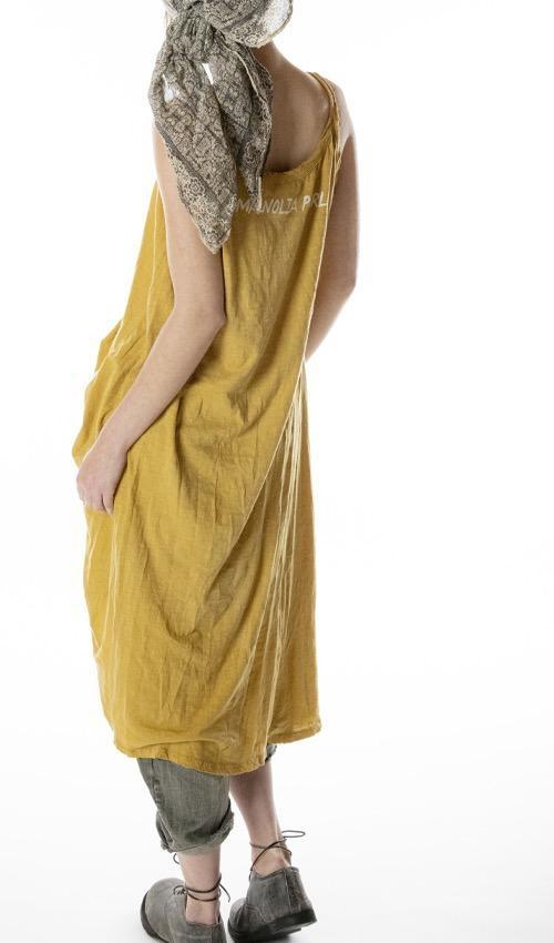 Cotton Jersey Moon Lana Tank Dress, Magnolia Pearl