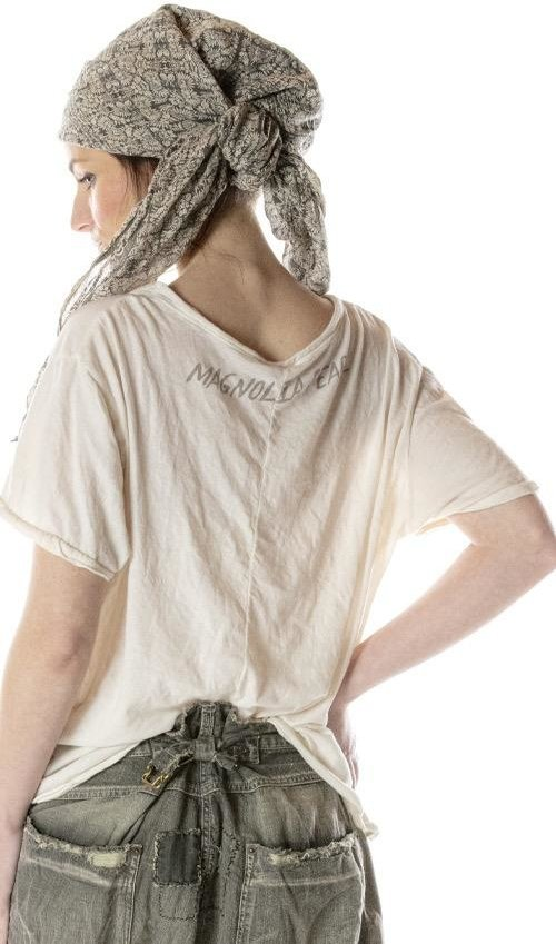 Cotton Jersey Amoret T, Magnolia Pearl