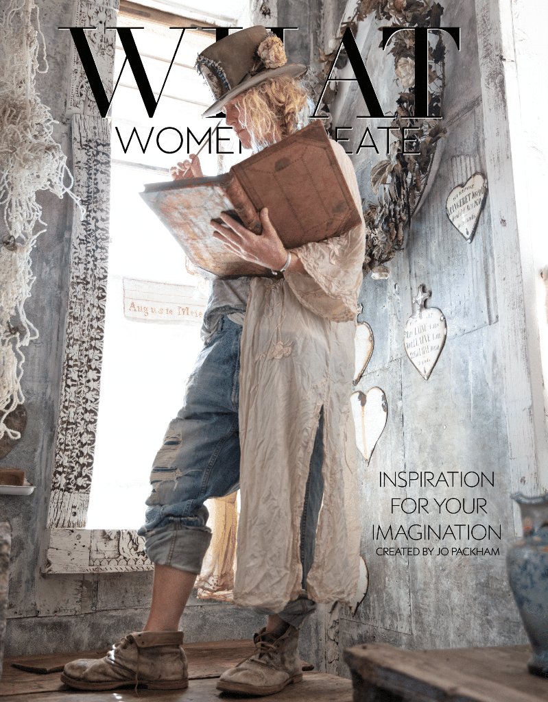 What Women Create Magazine, Magnolia Pearl