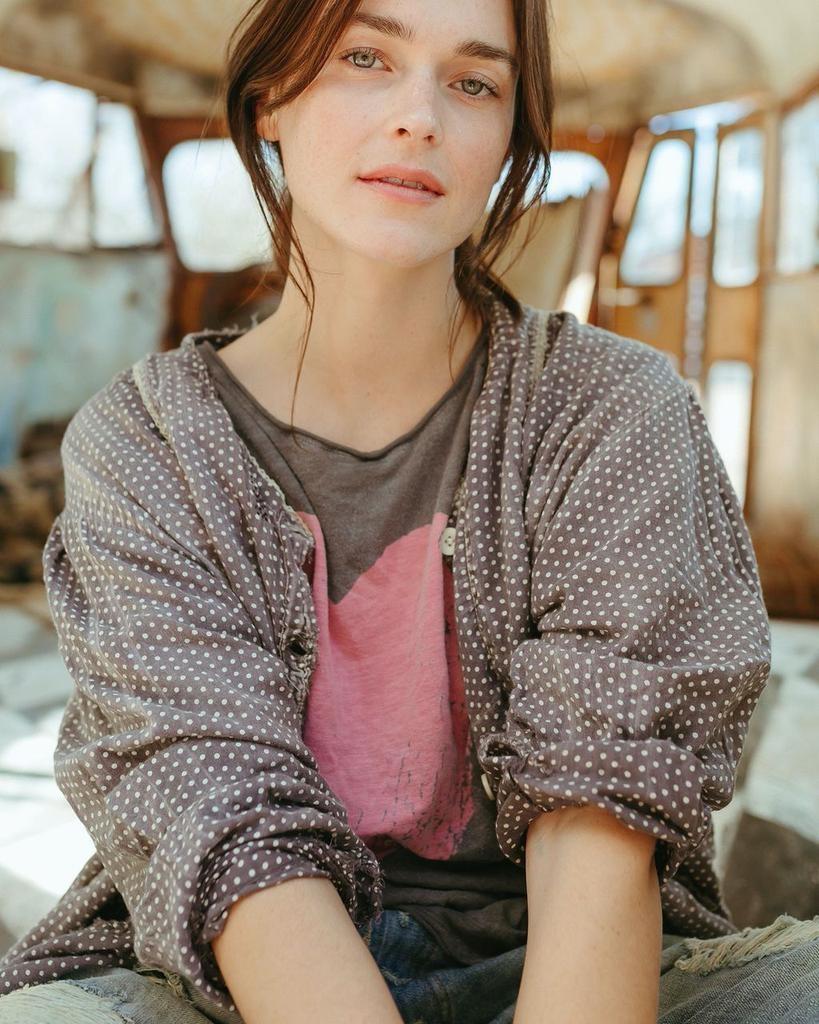 Cotton Jersey Season Of Love T, Boyfriend Cut, Magnolia Pearl