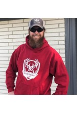 Rack Stacker Hoodie-Red Antique