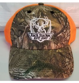 Rack Stacker Camo\Orange Mesh Back Hat