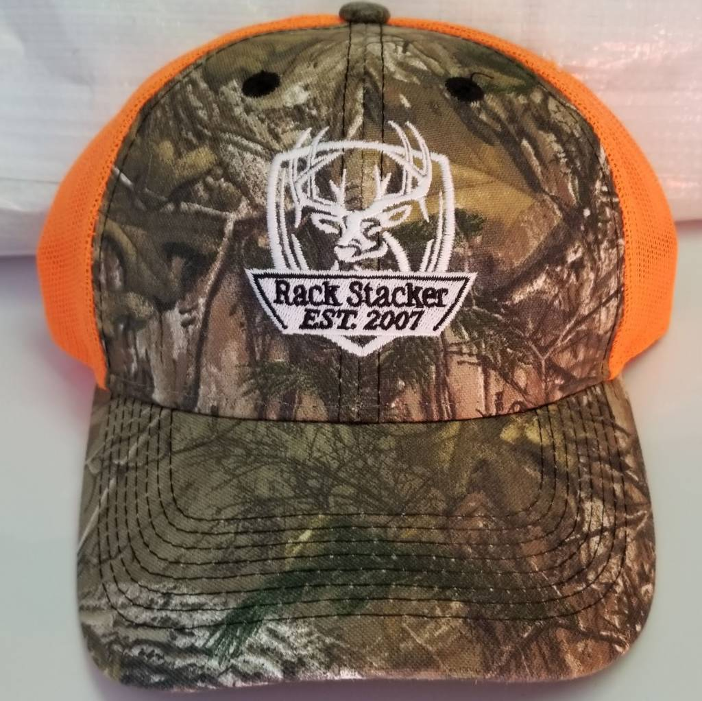 Rack Stacker Camo\Orange Mesh Back Hat